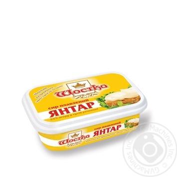 Сыр плавленый Шостка Янтарь 50% 180г