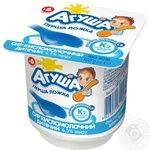 Cottage cheese Agusha classic for 6+ months babies 4.5% 100g