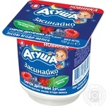 Agusha with berries and melissa for children from 8 months cottage cheese 3.9% 100g