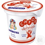 Slovianochka Cottage cheese with vanillin 15% 120g