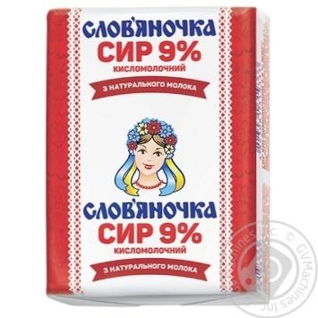 Творог Слов'яночка 9% 202г