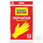 Rubber gloves Bonus size M Ukraine