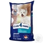Club 4 lapy Premium for adult dogs dry food 14000g