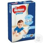 Huggies Pants 3 Panties-diapers 58pcs for boys