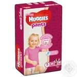 Diaper Huggies Pants for girls 34pcs