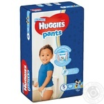 Huggies 5 boys Pants-diapers 12-17kg 34pcs
