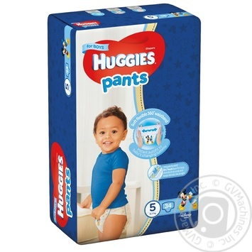 Huggies 5 boys Pants-diapers 12-17kg 34pcs - buy, prices for Novus - image 1