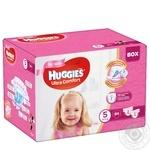 Подгузники Huggies Box UltraComfort д/дев5 12-22кг 84шт/уп