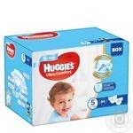 Подгузники Huggies Box UltraComfort д/мал5 12-22кг 84шт/уп