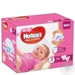 Diaper Huggies Ultra comfort for girls 5-9kg 108pcs