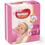 Diaper Huggies Ultra comfort for girls 5-9kg 20pcs