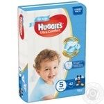 Diaper Huggies Ultra comfort for children 42pcs