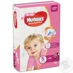 Diaper Huggies Ultra comfort for girls 42pcs