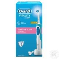 Електрична зубна щітка Oral-B Vitality Sensitive → Гігієна ... c01881387faaa