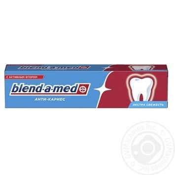 Blend-A-Med Anti-Karies Fresh Toothpaste 100ml - buy, prices for MegaMarket - image 3
