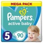 Подгузники Pampers Active Baby 5 11-16кг 90шт
