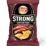 Lay's Strong potatoes chips with sausage flavor 120g
