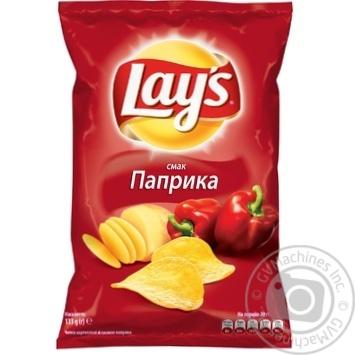 Чипсы Lay's со вкусом паприки 133г