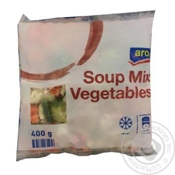 Смесь овощей для супа Aro свежезамороженная 400г