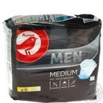 Прокладки урологические Auchan Medium мужские 10шт