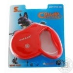 Roulette Collar red for pets