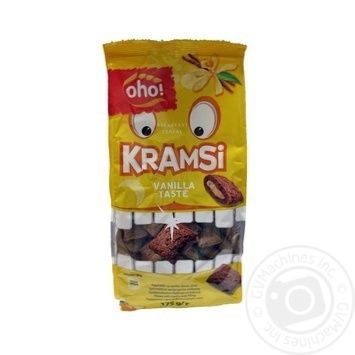 Oho Kramsi Grain Pads Stuffed with Vanilla Flavor Dry Breakfast 175g