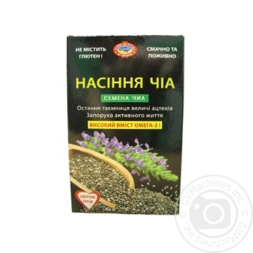 Golden Kings of Ukraine Chia seeds 100g - buy, prices for Novus - image 1