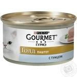 Gourmet Gold Tuna Canned For Cats Food 85g - buy, prices for Tavria V - image 1