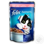 Felix Salmon Canned For Cats Food