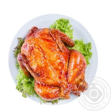 Курица запеченная медовая с карри