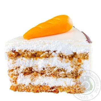 Торт Швейцарский морковный - купить, цены на Novus - фото 2