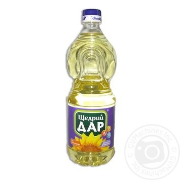 Schedryy dar sunflower refined oil 750ml - buy, prices for Novus - image 1
