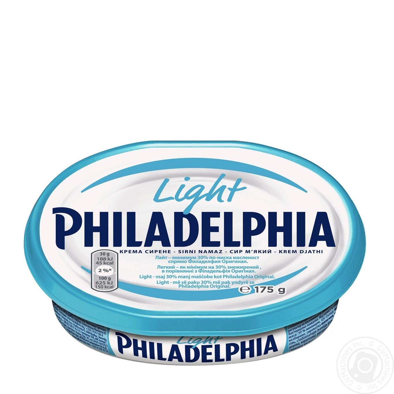 Сыр Филадельфия легкая ТМ Филадельфия 175г → Молочное и яйца → Сыр ... 49aa8ae833e
