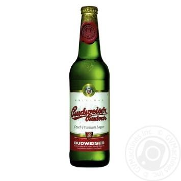 Пиво Budweiser Budvar 5% светлое 0,5л