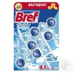 Bref Blocks for the toilet Power Active Ocean Freshness Triopack 150g