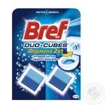 Means Bref diced for toilets 2pcs 100g