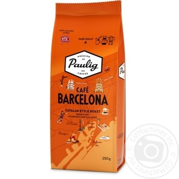 Paulig Cafe Barcelona Ground Coffee 250g - buy, prices for MegaMarket - image 1