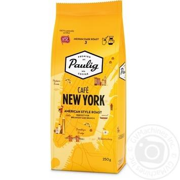 Кофе Paulig Cafe New York молотый средней обжарки 250г - купить, цены на МегаМаркет - фото 1