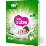 Стиральный порошок Тео Бебе Алоэ Вера с мягким мылом детский для всех типов стирки 400г
