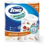 Бумажные полотенца Zewa Wisch&Weg Extra Lang 72 листа 2 слоя 2шт