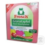 Powder detergent Frosch pomegranate for washing 1350g