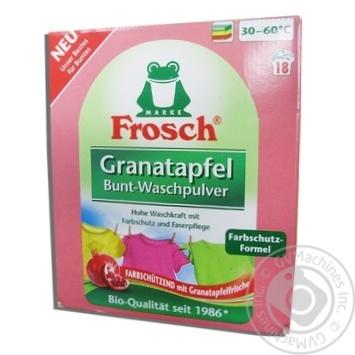 Пральний порошок-концентр Гранат Колор Frosch 1,35кг
