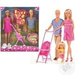 Simba Steffi Love Happy Family Doll Set