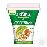 Бифидойогурт Активиа Киви-гранола 3% 230г
