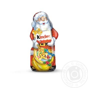 Шоколад фигурный Kinder молочный 110г - купить, цены на Фуршет - фото 1
