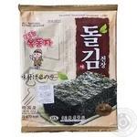 Нори снек Ock-Dong-Ja с кунжутным маслом 15г
