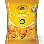 Чипсы начос El Sabor со вкусом сыра 100г