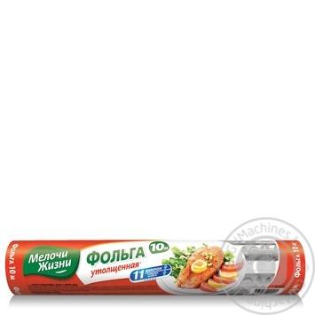 Фольга Мелочи жизни алюминиевая утолщенная 10м - купить, цены на Фуршет - фото 3