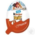 Кондитерський виріб Kinder Joy Інфінімікс з іграшкою для хлопчиків 20г