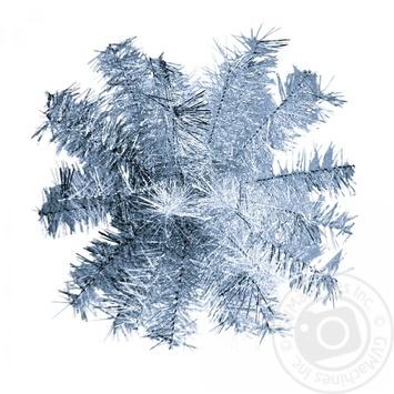 Шар-снежинка средний мишура